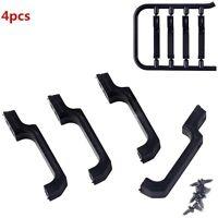 4X Black Door Handle Kits For Traxxas TRX-4 TRX4 T4 D90 D110 Car 1/10 RC Crawler