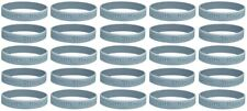 25 Brain Cancer Gray Silicone Awareness Bracelets - Medical Grade Silicone