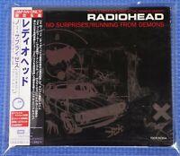 Radiohead No Surprises / Running  From Demons Japan Only CD OBI TOCP-50354