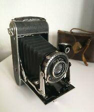 Rollfilmkamera Compur mit Rodenstock Trinar-Anastigmat 10,5cm f/4.5 Optik