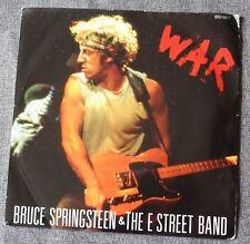 Bruce Springsteen, war / merry christmas baby, SP - 45 tours UK