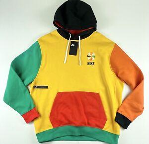 Nike Sportswear Evolution Of The Swoosh Pullover Hoodie Sweatshirt CQ7191 $70