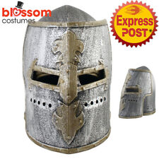 AC581 Medieval Warrior Crusader Helmet Knight Soldier Armour Costume Accessory