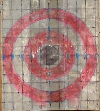 ONE Laser Sighting Target,Reflective,daylight,guaranteed,handmade,12x11,2sided