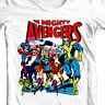 The Mighty Avengers t-shirt retro comic book Hawkeye Wasp Small-4XL 5XL