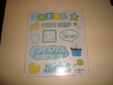 Blue Baby's First Event Stickers /New. Clearance
