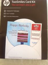 TwoSmiles Card Kit hp the card that's also a gift 10 Sheets