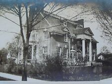 RPPC OLD HOUSE & CHILD! 1920'S B&W REAL MALDEN ART CO., CIN.O. PHOTO POSTCARD PC