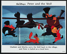 Maldives 1928 MNH Disney, Peter & the Wolf, Ivan
