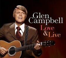 Love & Live by Glen Campbell (CD, Jan-2014, 2 Discs, Music Club Deluxe)