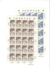 1987 MNH Europa sheets, Faeroer, Färöer, Faroer, Faroe Islands, postfris