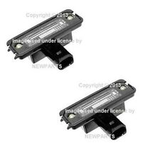 For Porsche 955 957 977 Boxster Cayenne License Plate Light Genuine Set of 2 New