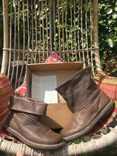 Trippen Bomb Slouch Boots  Size 6.5, Eu40. New In Box