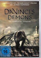 4 DVD *  DA VINCI`S DEMONS - STAFFEL / SEASON 3  # NEU OVP $