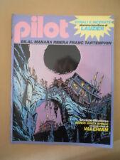 PILOT Rivista Fumetti n°3 1982 Christin Bilal - Uomo di carta Manara   [D9]