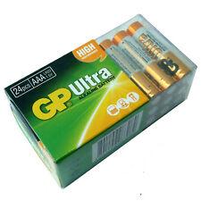 Paquete De 24 Pilas AAA GP Ultra Alcalino Alta Potencia 24AU LR03 MN2400 2023 de caducidad