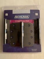 Schlage 10-091 643e 1 3//4/'/' by 8 3//16/'/' aged bronze finish
