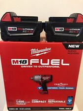 Milwaukee M18 FUEL ONE-KEY 2863-20 1/2 in. Ring + (2) 48-11-1850 5.0AH Batts