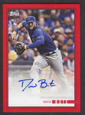 9b6140ee7a0 Topps On Demand Rookie Year in Review 2018 - D Bote Cubs Autograph Red 06