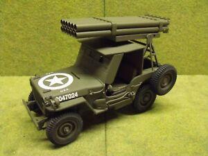 1/16 Danbury Mint Rocket Launcher Jeep
