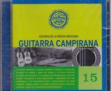 Guitarra Campirana Historia de la Musica Mexicana 15 New Nuevo CD