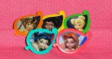 Tinker Bell/Friends Plastic Cupcake Rings,Favors,Multi-Color,12 ct. DecoPac