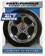 Fast & Furious 7-Movie Collection [Blu-ray] ~ New & Sealed