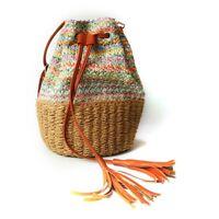 Straw Hand-woven Fashion Shoulder Bag Women Summer Beach Purse