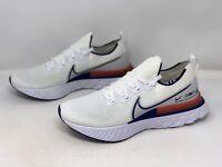 Nike React Infinity Run Flyknit Blue Ribbon Running Shoe Size 12 BNIB CW7597-100