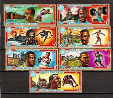 STAMPS Equatorial Guinea Ecuatorial Sport Olympics Munich 1972 # 7245-51 MNH