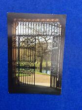 Colour postcard: Cambridge, Trinity College gate, Trevor Wood Images East Anglia