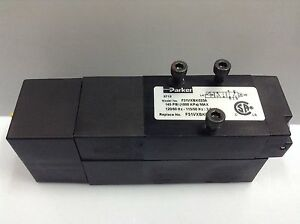 PARKER F31VXBK023A 5/2-way 120 AC Solenoid Pneumatic Directional Control Valve