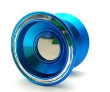 Acid Unresponsive Professional Trick String Magic YoYo Anodized Metal BLUE