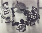 GILBERT PERREAULT & STAN MIKITA 8X10 PHOTO HOCKEY BUFFALO SABRES NHL