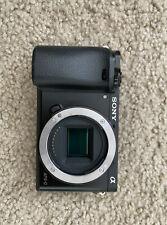 Sony Alpha a6000 24.3MP Digital SLR Camera - Black