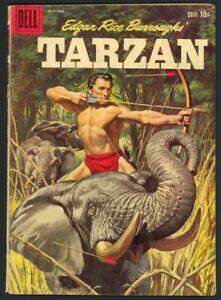 Tarzan #113 - Edgar Rice Burroughs - Silver Age - Dell Comics (1959) VG+