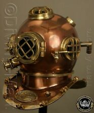 Morse Brown Divers London Boston Diving Scuba Deep Sea Divers Helmet Antique