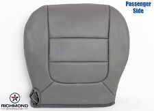 2003 Ford F150 Lariat Flare Step Side -PASSENGER Bottom Leather Seat Cover GRAY