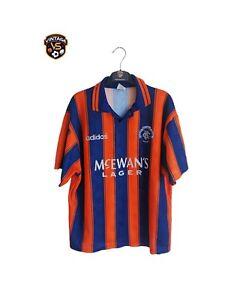 Vintage ORIGINAL Glasgow Rangers FC Football Away Shirt 1993-1994 (M - L) Adidas