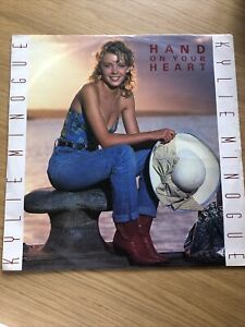 """Kylie Minogue - Hand On Your Heart 12"""" Vinyl"""