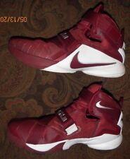 Nike LeBron Soldier Shoes Wine/White(813264-663) CAVS LAND US MEN'S SIZE 13!!!