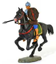 Starlux Roman Cavalryman with Lance - 60mm painted soldier - only 1 available!