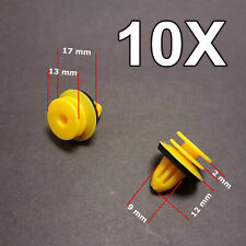 10X Front and Rear Door Panel Retaining Clip For Mercedes Benz