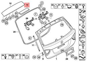 Genuine BMW E91 316d 316i 318d 318i 320d ed 320i Covering Diversity 51317181028