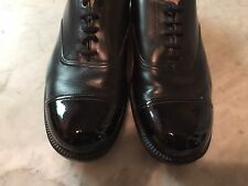 Police uniform officer army rockabilly military patent leather  mens shoes sz 9?