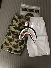 Bape 1st Camo Shark Beach Shorts XL