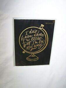 Papyrus Graduation Greeting Card & Envelope; I'm On My Way