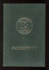 PASSEPORT  Daniel JAUNES  TITO / BUCQUOY   1985 Editions GLENAT  Très bon état