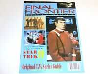 Final Frontier 4 The Star Trek Magazine UK IV Voyage Home Spock Nimoy