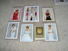 Princess Diana 15 Stamp Commemorative Set Coa's Early 2000's Original Packaging